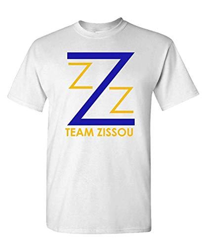 mfnsfc Team Zissou - Intern Aquatic Movie Comedy - Mens Cotton T-Shirt S White