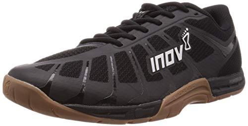 Inov-8 Mens F-Lite 235 V3 - Cross Trainer Shoes - Lightweight and Flexible - Black/Gum - 11.5