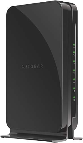 NETGEAR Cable Modem with Voice CM500V - For Xfinity by Comcast Internet & Voice | Supports Cable Plans Up to 300 Mbps | 2 Phone lines | DOCSIS 3.0, Black, 16x4 w/ Voice (CM500V-100NAS)