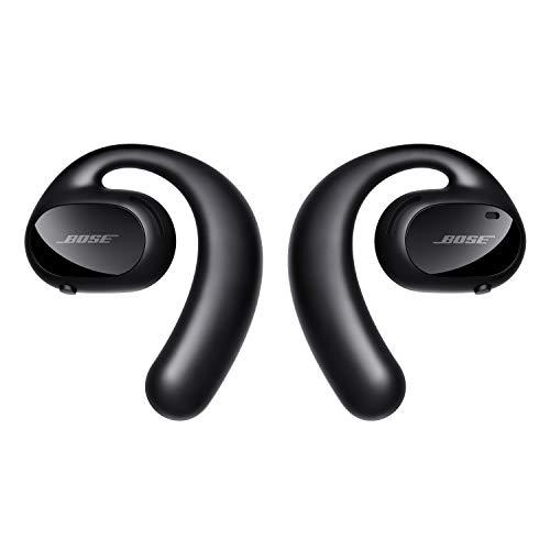 Bose Sport Open Earbuds — True Wireless Open Ear Headphones - Sweat Resistant for Running, Walking and Workouts, Black