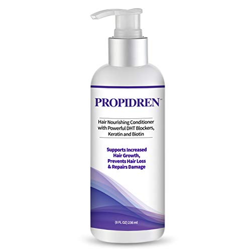Hairgenics Propidren Hair Growth Conditioner with Keratin, Collagen and Proteins to Moisturize Hair, Biotin for Hair Growth, and Potent DHT Blockers to Prevent Hair Loss and Help Regrow Hair.