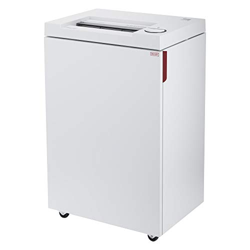 ideal. 2465 Cross Cut Commercial Paper Shredder, Continuous Operation, 13-15 Sheets at a time, 9 Gallon Bin, Shred Staples/Paper Clips/Credit Cards, 3/4 HP Motor, P-4 Security Level