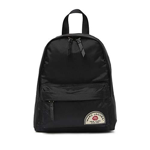 Mark Jacobs Black Collegiate Medium Nylon Backpack