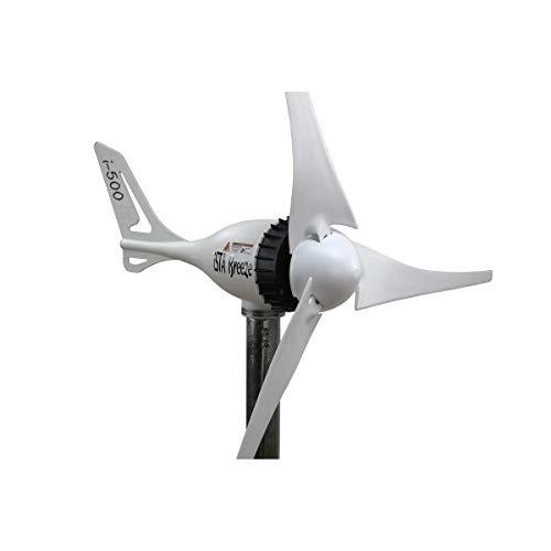 Ista Breeze 500w 12v/24v White Edition Windgenerator, Wind Turbine (12 V)