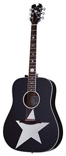Schecter 6 String RS-1000 Stage Acoustic, Gloss Black 282