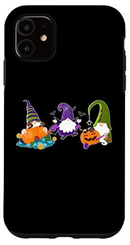 iPhone 11 Halloween Gnomes Cute Autumn Pumpkin Fall - Funny Gift Case