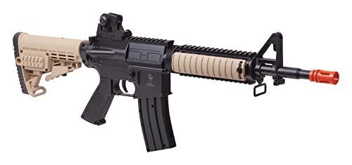 GameFace GFR37 Elite Renegade Spring-Powered Single-Shot Airsoft Rifle, Dark Earth/Black