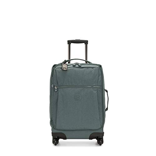 Kipling Darcey Softside Spinner Wheel Luggage, Light Aloe, Carry-On 22-Inch