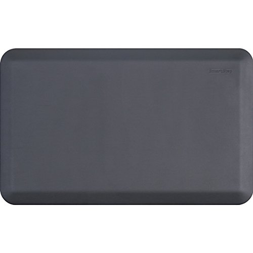 Smart Step Select Classic 3/4' Anti-Fatigue Comfort & Support Mat - Non-Slip, Durable - 32'x20'x3/4' Gray