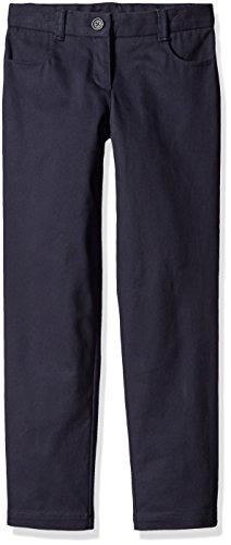 Dockers Big Girls' Uniform Skinny Pant, Navy, 8