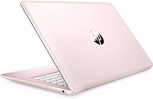 2021 HP Stream 14' HD Thin and Light Laptop, Intel Celeron N4000 Processor, 4GB RAM, 64GB eMMC, HDMI, Webcam, WiFi, Bluetooth, 1 Year Office 365, Windows 10 S, Rose Pink, W/ IFT Accessories