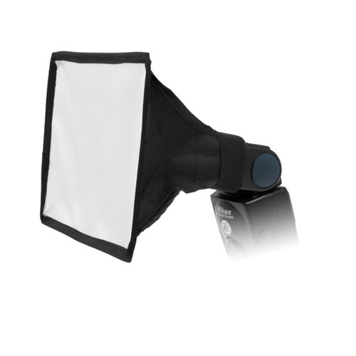 Fotodiox 6'x9' Softbox for Nikon Flash, Canon Speedlite, for Nikon SB-600, SB-700, SB-800, SB-900, SB-910 Flash, Canon Speedlite 380EX, 430EX, II, 550EX, 580EX, II, 600EX-RT, Vivitar Flash, Sunpak, Nissin, Sigma, Sony, Pentax, Olympus, Panasonic Lumix Flashes