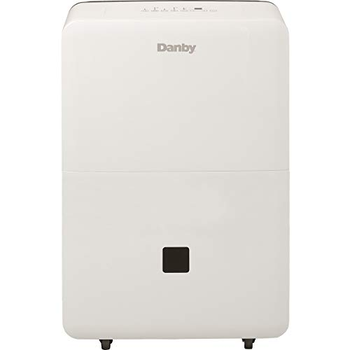 Danby DDR050BJWDB 50 Pint Energy Star Dehumidifier, White