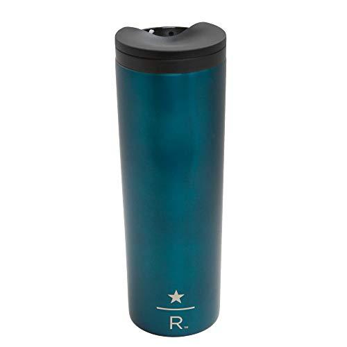 Starbucks Reserve Oklahoma Tumbler Vacuum Insulated Stainless Steel Traveler Tumbler Coffee Mug 16 Oz - Teal