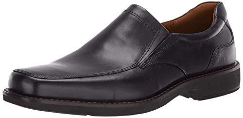 ECCO Men's Seattle Slip On Loafer, Black, 44 Medium EU (10-10.5 US)