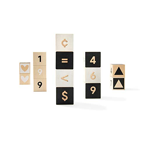 Uncle Goose to Tonet Number Blocks - Made in The USA