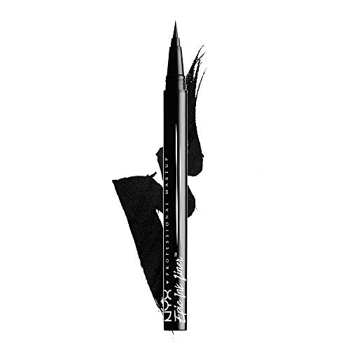 NYX PROFESSIONAL MAKEUP Epic Ink Liner, Waterproof Liquid Eyeliner, Black