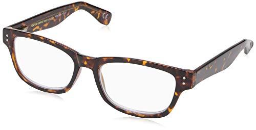 Foster Grant Conan Multifocus Glasses, Tortoise, 2
