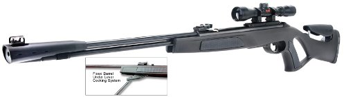 Gamo 61100073154 Whisper CFR .177 Caliber Air Rifle with Noise Dampener