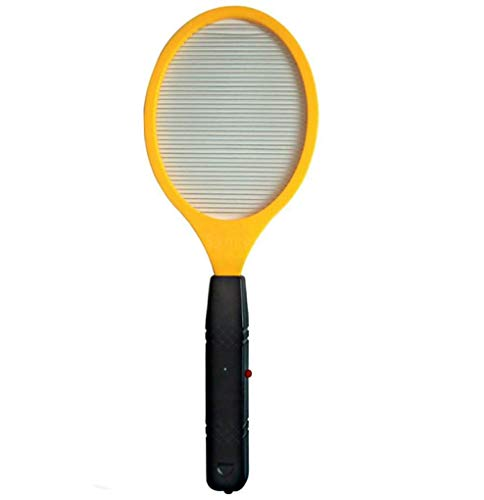 Mosquito Zapper, Fly Swatter with 2 AA Batteries, Snap Critters Out of Existence, Practical, Effective Stress-Buster, Ideal for Adults, Teens, Kids, No Messy Mists, Lotions, or Smoky Coils, 1 pc