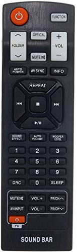 New Replacement Remote Control fit for NB2520A NB2430A NB5541 NB3530A LG Sound bar System