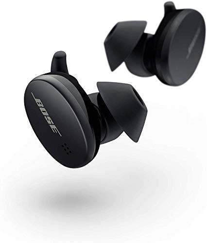 Bose Sport Earbuds - True Wireless Earphones - Bluetooth In Ear Headphones for Workouts and Running, Triple Black