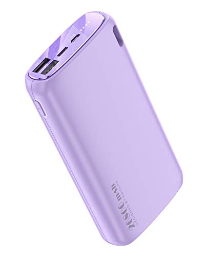 Portable Charger 26800mAh, KUULAA Power Bank Ultra-High Capacity Portable Battery, External Battery Pack Dual-Input and Dual-Output Cell Phone Battery Charger for iPhone Samsung & etc