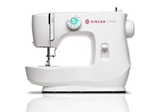 SINGER | M1500 Sewing Machine with 57 Stitch Applications - Perfect for Beginners - Sewing Made Easy