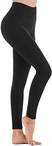 IUGA High Waisted Leggings for Women Workout Leggings with Inner Pocket Yoga Pants for Women Black