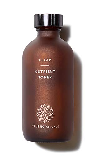 True Botanicals - Organic CLEAR Nutrient Face Toner | Clean, Non-Toxic, Natural Skincare (4 fl oz | 120 ml)