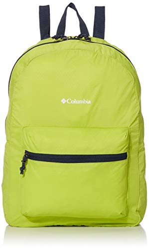 Columbia Unisex Lightweight Packable 21L Backpack, Bright Chartreuse, One Size