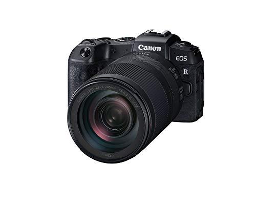 Canon EOS RP Full-frame Mirrorless Interchangeable Lens Camera + RF 24-240mm F4-6.3 IS USM Lens Kit, Black, Model Number: 3380C032