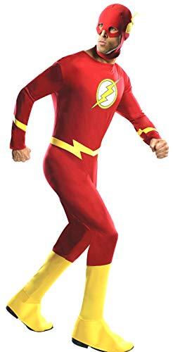 Rubie's Men's DC Comics The Flash Adult Costume, Red, Medium