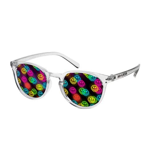 HI-LITES Special Effect Glasses- Smile Effect Lenses (Clear)- Designer Style