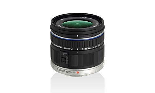 Olympus M ED 9-18mm f/4.0-5.6 micro Four Thirds Lens for Olympus and Panasonic Micro Four Third Interchangeable Lens Digital Camera - International Version (No Warranty)