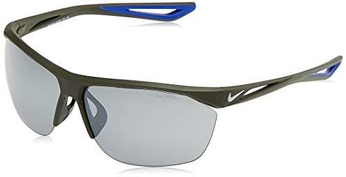 Nike EV0915-310 Tailwind Sunglasses (Silver Flash Lens), Matte Cargo Khaki/Wolf Grey