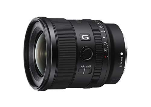 Sony FE 20mm F1.8 G Full-Frame Large-Aperture Ultra-Wide Angle G Lens, Model: SEL20F18G