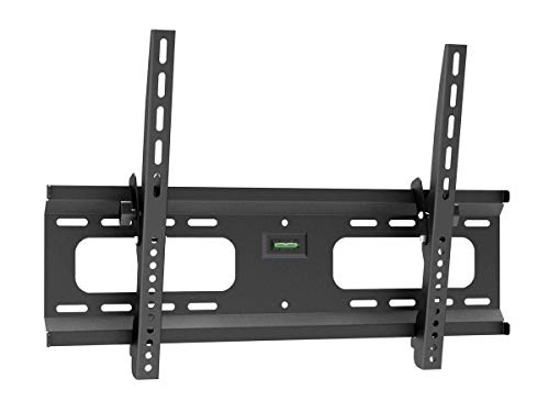 Monoprice Stable Series Tilt TV Wall Mount Bracket - for TVs 37in to 70in Max Weight 165lbs VESA Patterns Up to 600x400 UL Certified, 110483 Black