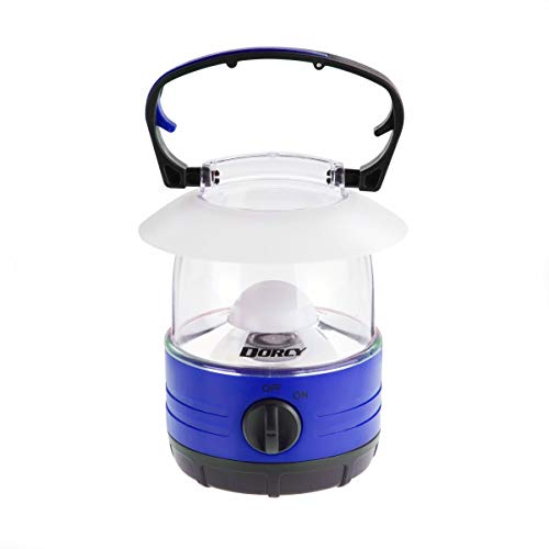 Dorcy LED Bright Mini Lantern 70 Hour Run Time, Assorted Colors, Small, Model Number: 41-1017,Blue/Red