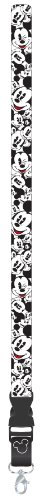 Plasticolor 004442R01 Mickey Mouse Expressions Disney Lanyard Keychain