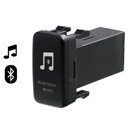 Car Bluetooth Music Adapter Module Panel Installation AUX Output Use for Toyota Hilux VIGO,Coaster,Corolla ex,Yaris,Reiz