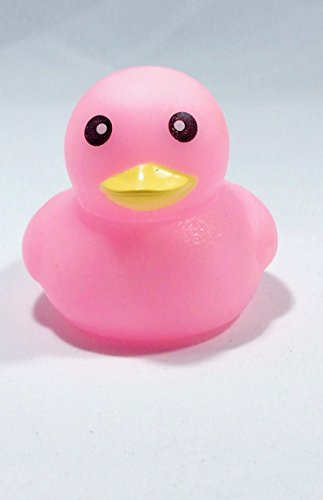 Ben Collection Rubber Duck Baby Bath Toy 10-Pack (Pink)
