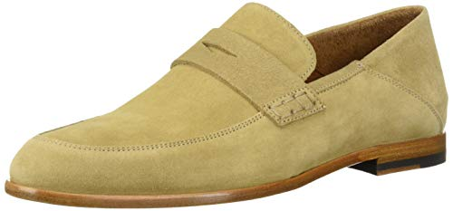 Aquatalia Men's Harris Suede Loafer Sand 9 M US