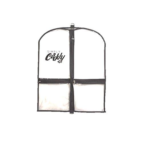 Simply Caddy Costume Garment Bag Black Trim Mini