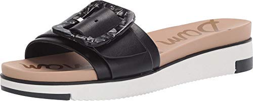Sam Edelman womens Ariane Slide Sandal Black 9 M