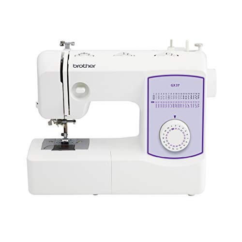 Brother Sewing Machine, GX37, 37 Built-in Stitches, 6 Included Sewing Feet