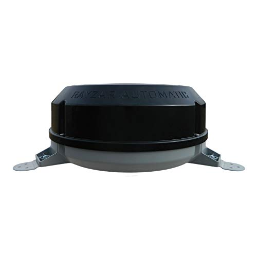 Winegard Rayzar Automatic RZ-8535 Fully Automatic RV Antenna (4K Ultra-HD Ready, ATSC 3.0 Ready, Digital VHF/UHF, Amplified) - Black