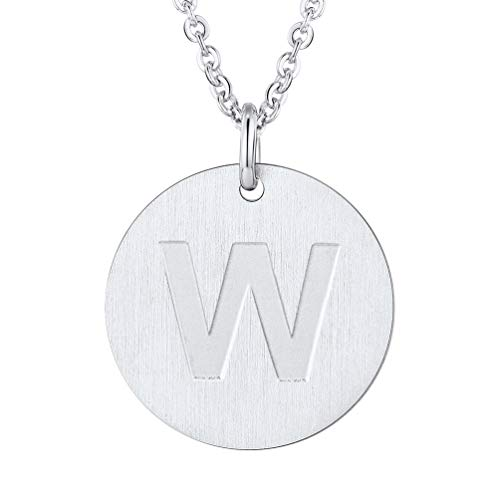 PROSTEEL Womans Necklace Personalized Jewelry for Women Inital Neckles