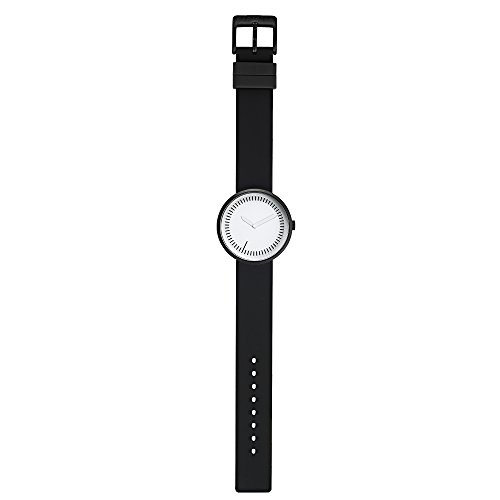 Meantime Watch, Black Silicone Band by Denis Guidone for Projects Watches