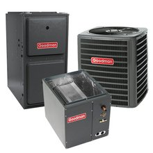 100,000 BTU 96% Gas Furnace and 2.5 ton 13 SEER Air Conditioner GMSS961005CN-GSX130301-CAPF3030C6